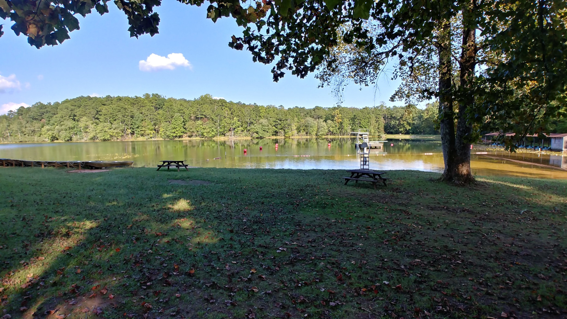 Oconee park provides quite a comfort summer camping experience in South Carolina