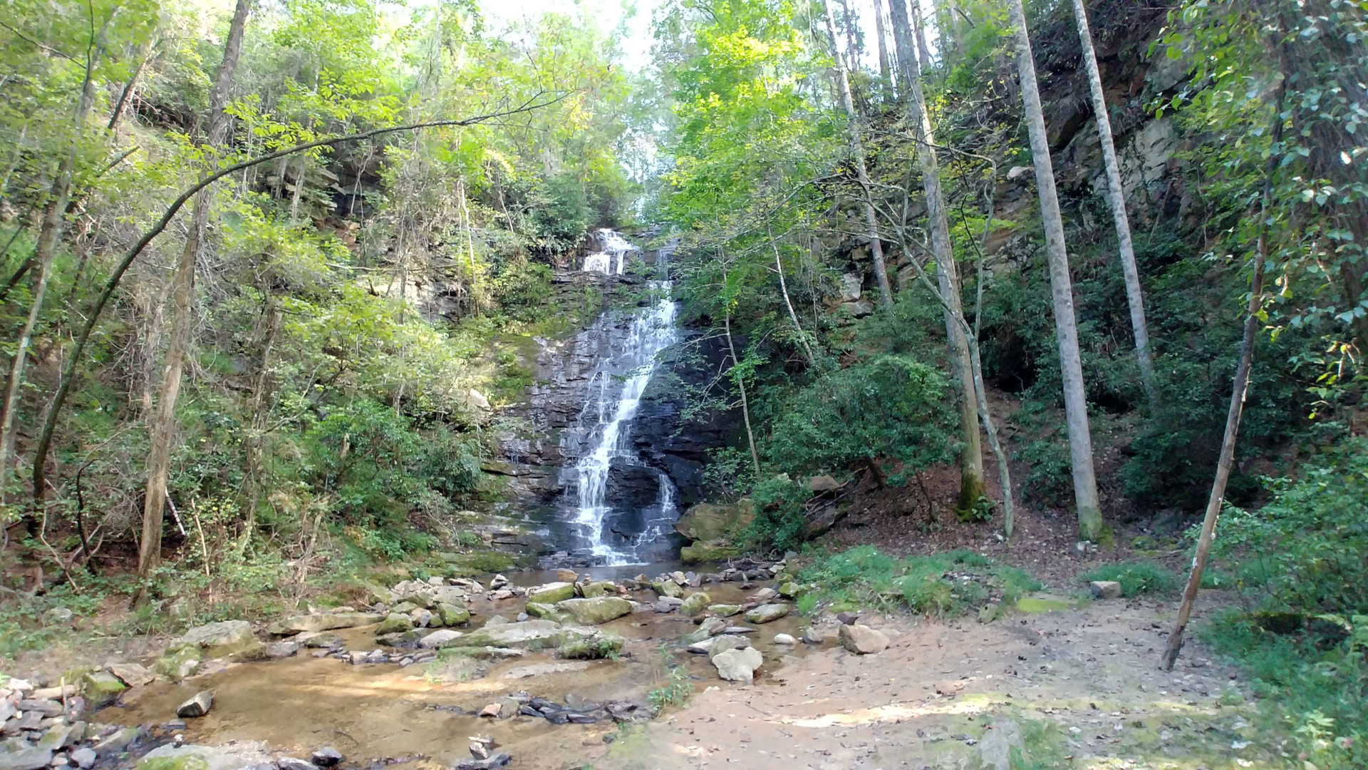 Reedy Branch Falls are as pristine as you can get